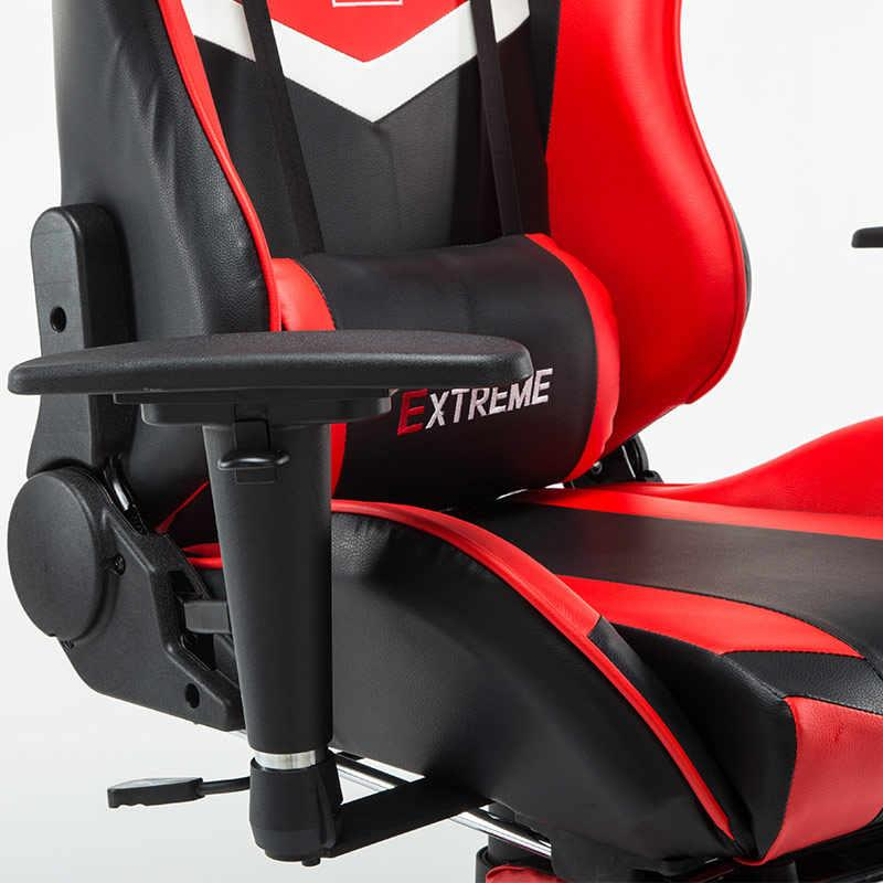Groovy Pro Leather Gaming Chair Kerusi Game Racing Cyber Cafe Gaming Kerusi Theyellowbook Wood Chair Design Ideas Theyellowbookinfo