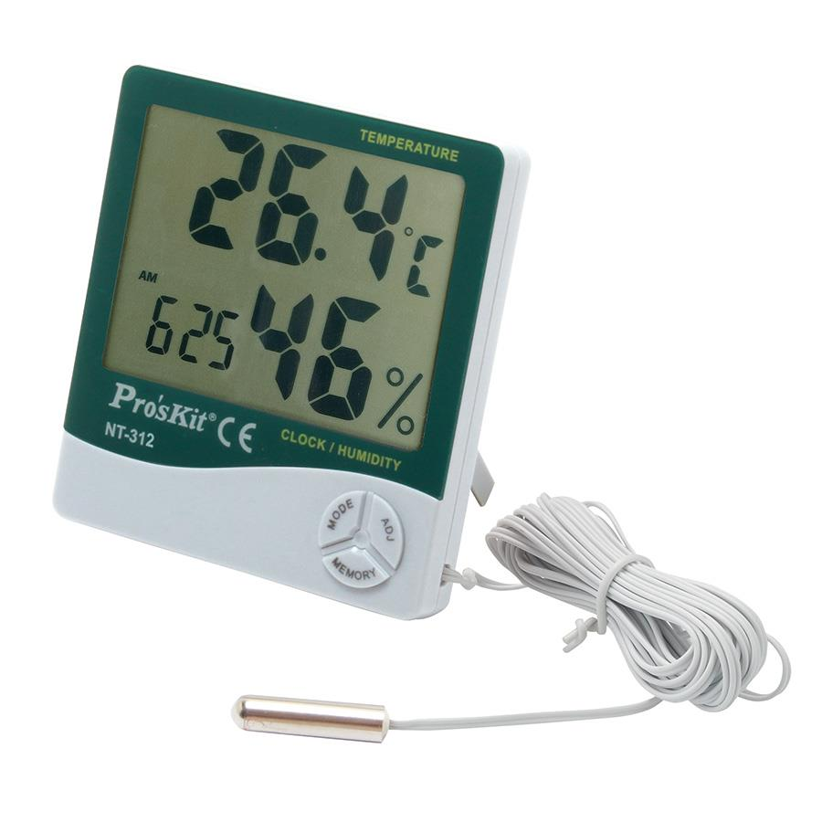 PRO'SKIT Proskit Digital Temperature Humidity Meter With Probe NT-312