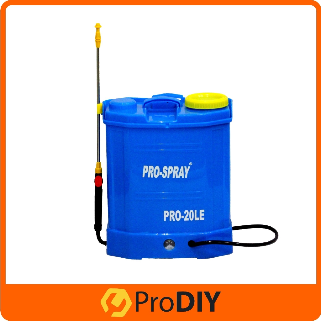 Pro-spray PORTABLE Rechargeable Battery Knapsack Chemical - [20L TANK]