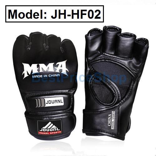Pro-version Half Finger Boxing Glove Martial Art & Fighting Training