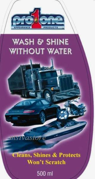 Pro1One Waterless Wash & Shine All in 1. Must Have for Every Vehicle