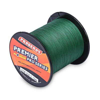 PROBEROS 300M Durable PE 4 Strands Braided Fishing Line Angling Accessories (G