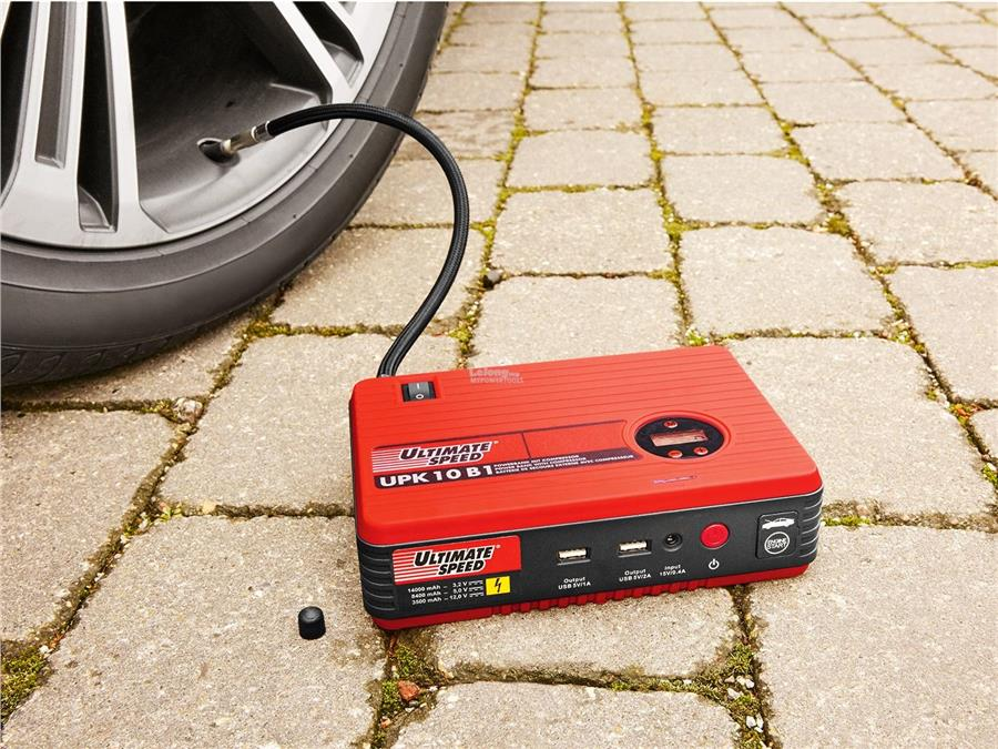 MY Professional 12V 4in1 Lithium Power Jump Starter with Compressor