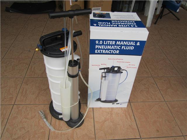 Professional 9.0 Liters Manual / Pneumatic Fluid Oil Extractor