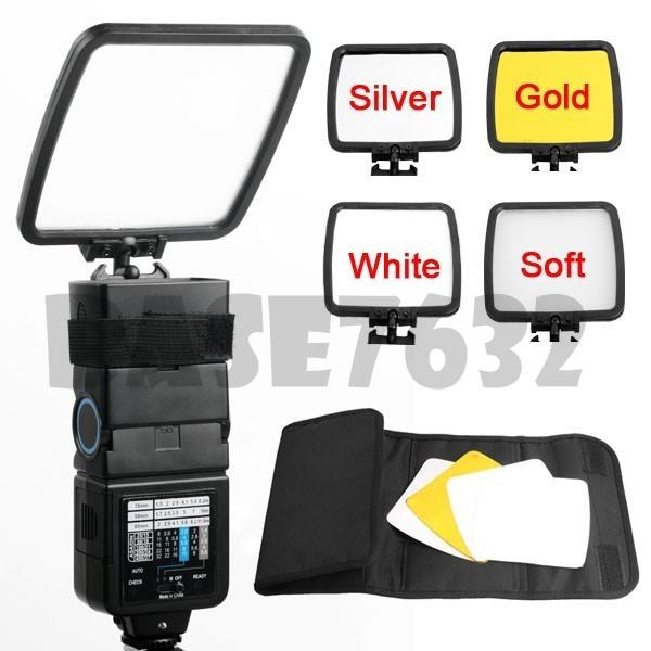 Professional Camera Flash Reflector/ Flash Diffuser Canon Nikon Kit