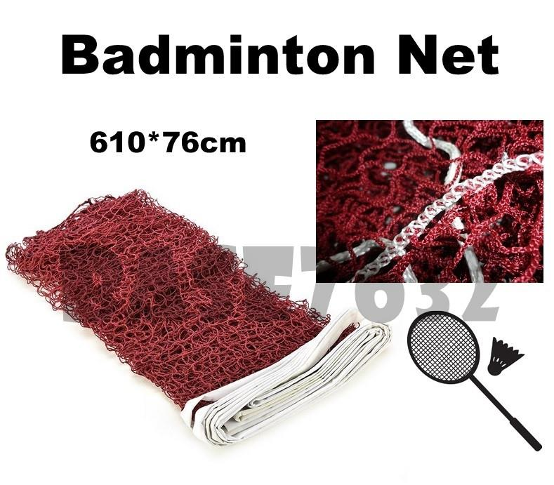 Professional  Durable Standard Training Badminton Net Mesh 610*76cm