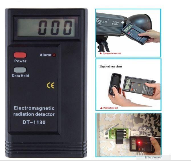 Professional EMF Meter Dosimeter Tester Electromagnetic Radiation Dete