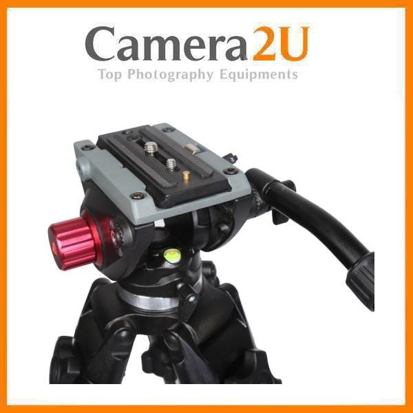 Professional Fluid Video Ball Head for Tripod Monopod VH01