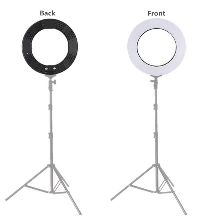 Professional LED Ring Light with Color Temperature Control with Stand