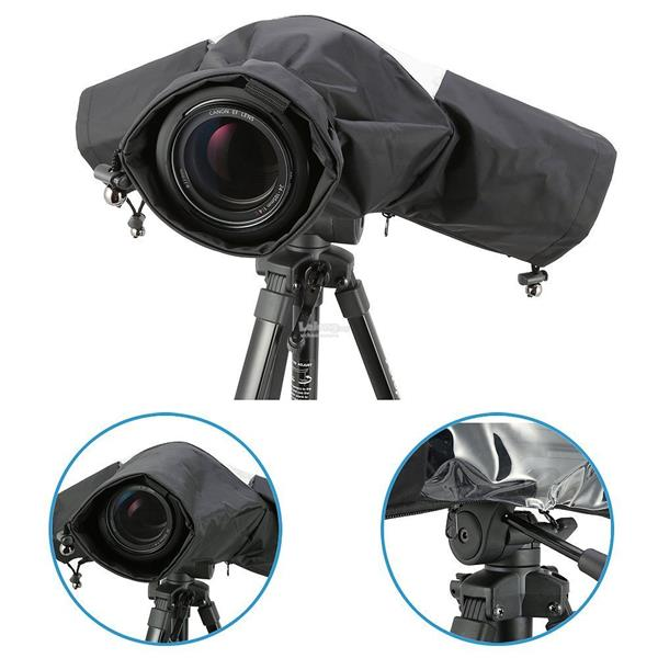 Professional Rain Cover for Large DSLR Cameras