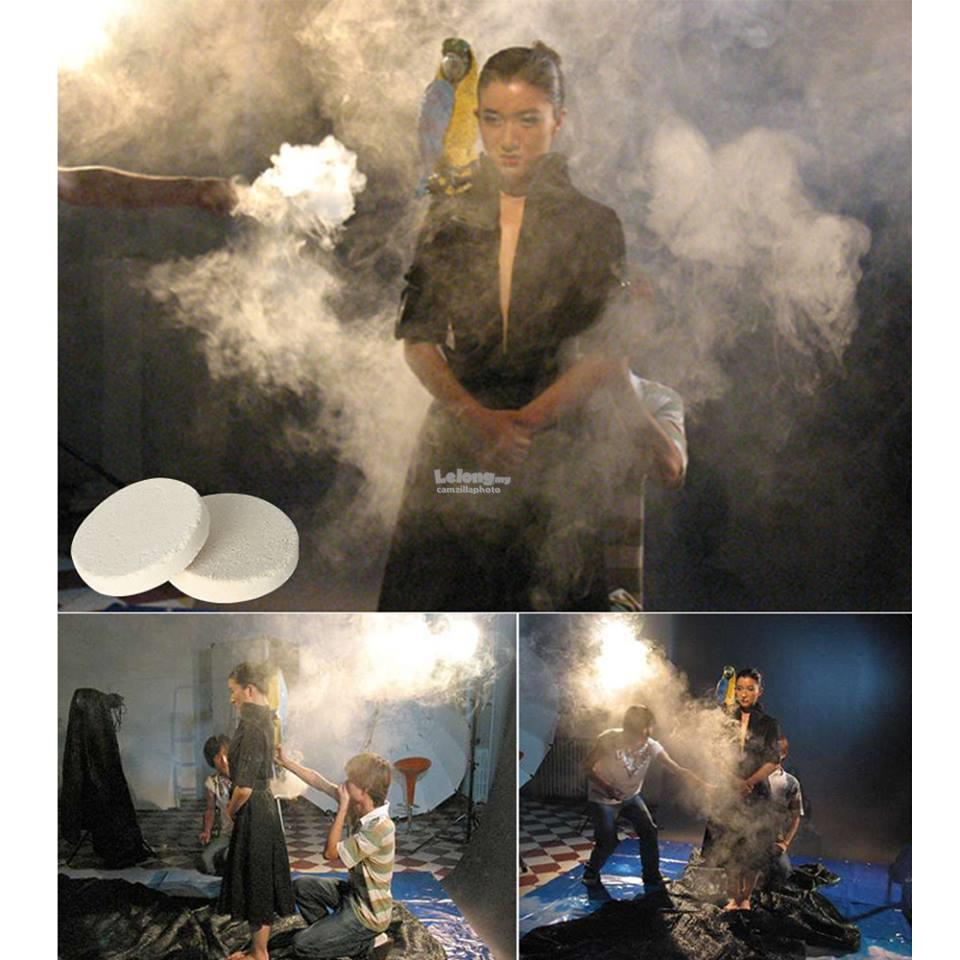 Professional Smoke cake to Creat Natural Fog for Video Photo Movies TV