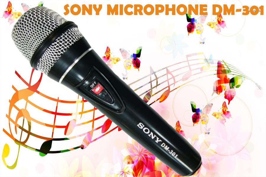 Professional Sony DM-301 Vocal Microphone Karaoke