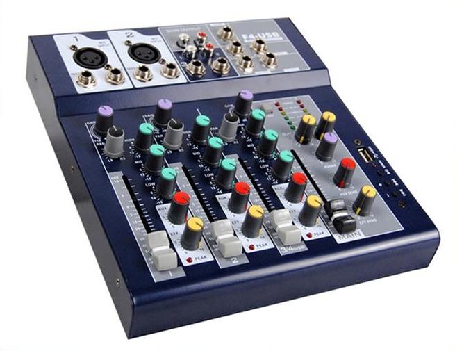 Professional sound Mixer stage performance ktv effect USB MP3