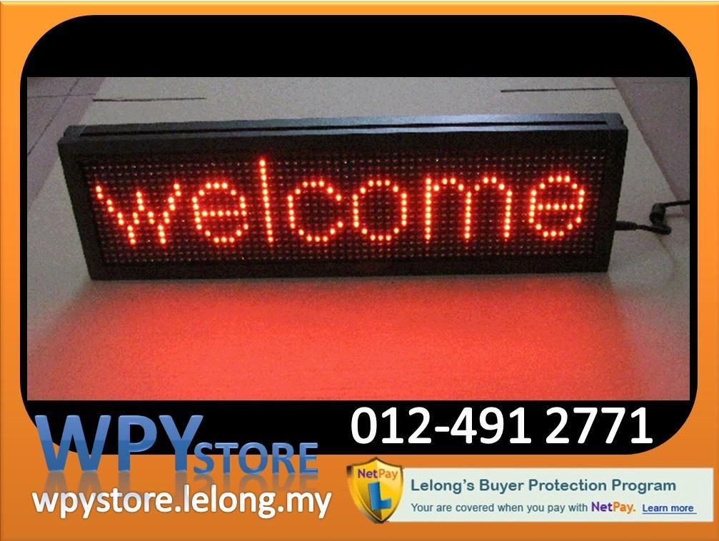 Programmable LED Running Message Display Board