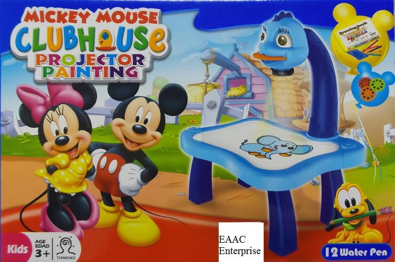 projector painting table mickey mous end 4 20 2021 9 15 am