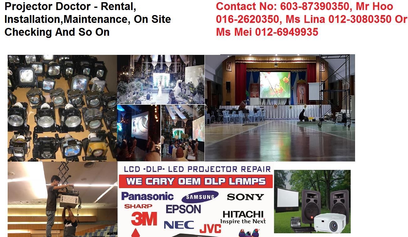 Projector Services & Rental Klang Valley
