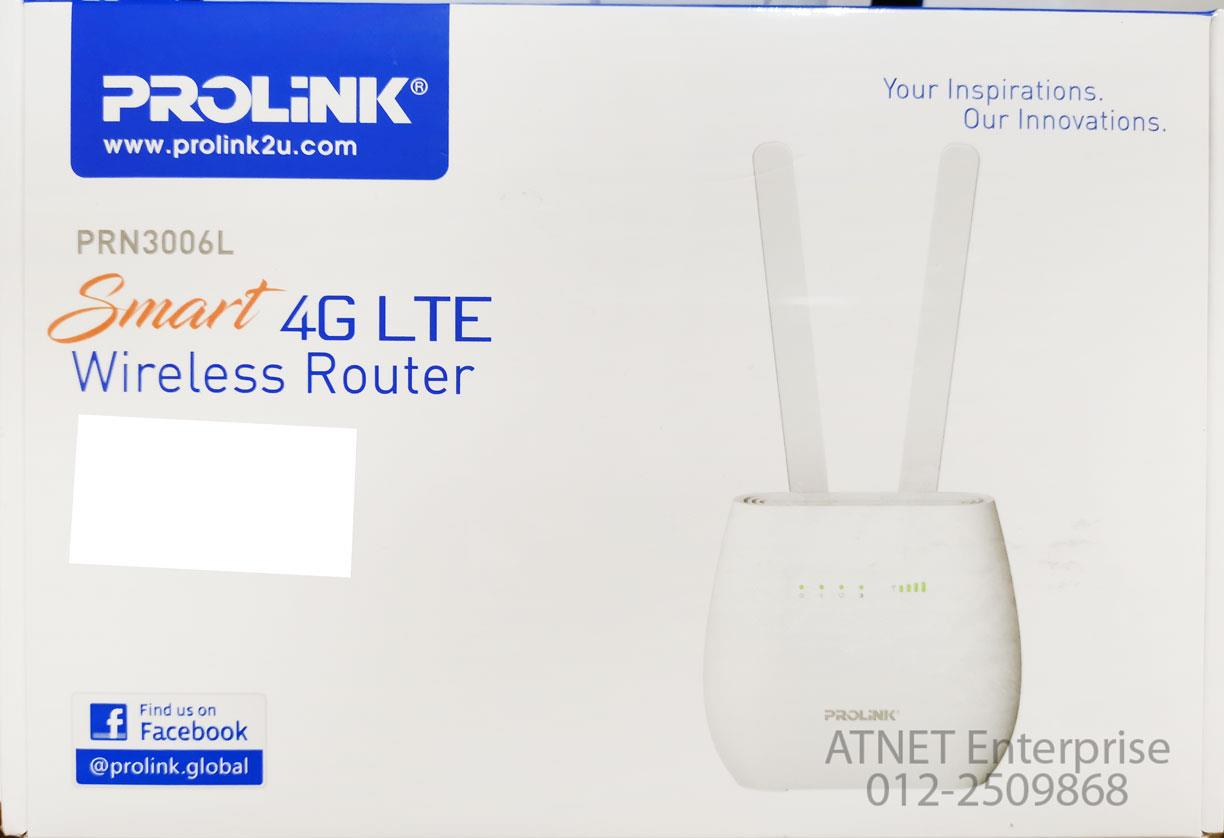 PROLINK PRN3006L SMART 4G LTE WIRELESS-N ROUTER: Best Price in Malaysia