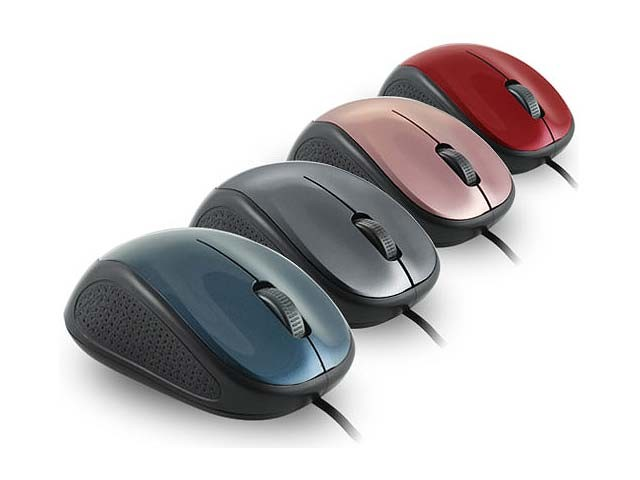 PROLINK USB OPTICAL MOUSE (PMO630U) BLUE/GRY/PINK/RED