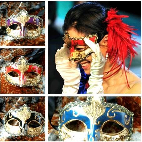 Prom Night Men Mask/ Royal R2