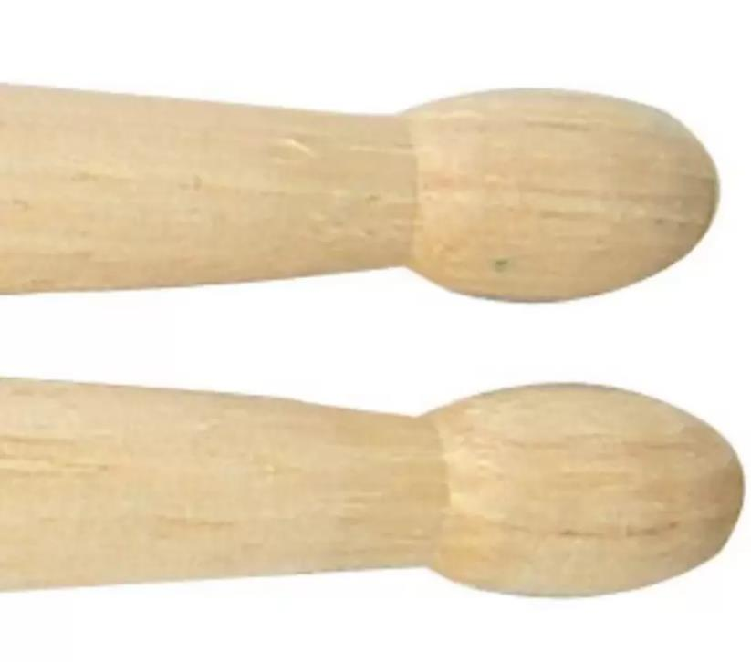 Promark TXR5BW American Hickory Natural Wood Tip Unlacquered Single Pair