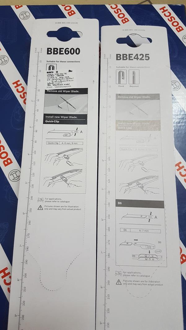 "[PROMO] BOSCH ECO PLUS WIPER for ALZA, INSPIRA, LANCER GT (24""/17"")"