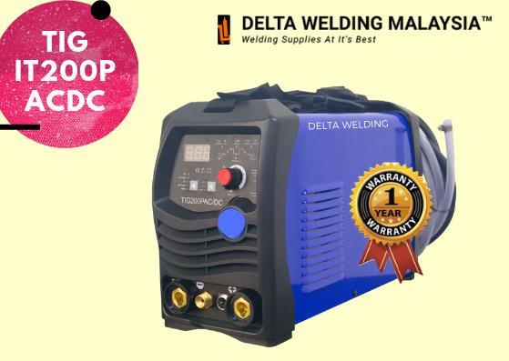 PROMO : DELTA IT200 ACDC TIG welding machine Malaysia