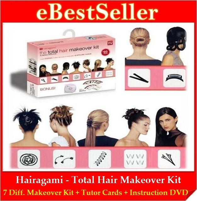Promo! Hairagami Total Hair Makeover Kit + Free Instruction DVD