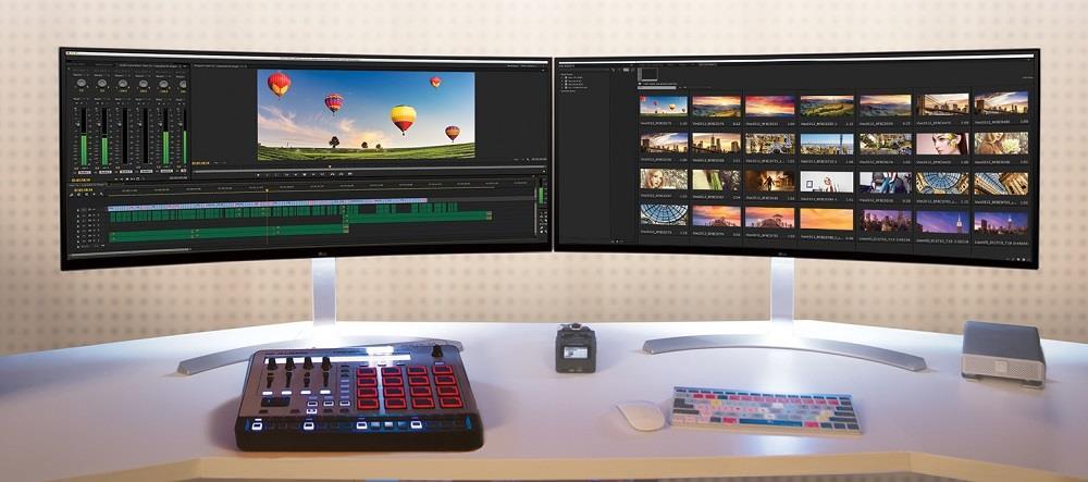 "PROMO: LG 34"" Curved 21:9 UltraWide™ IPS Display Monitor - 34UC98-W"