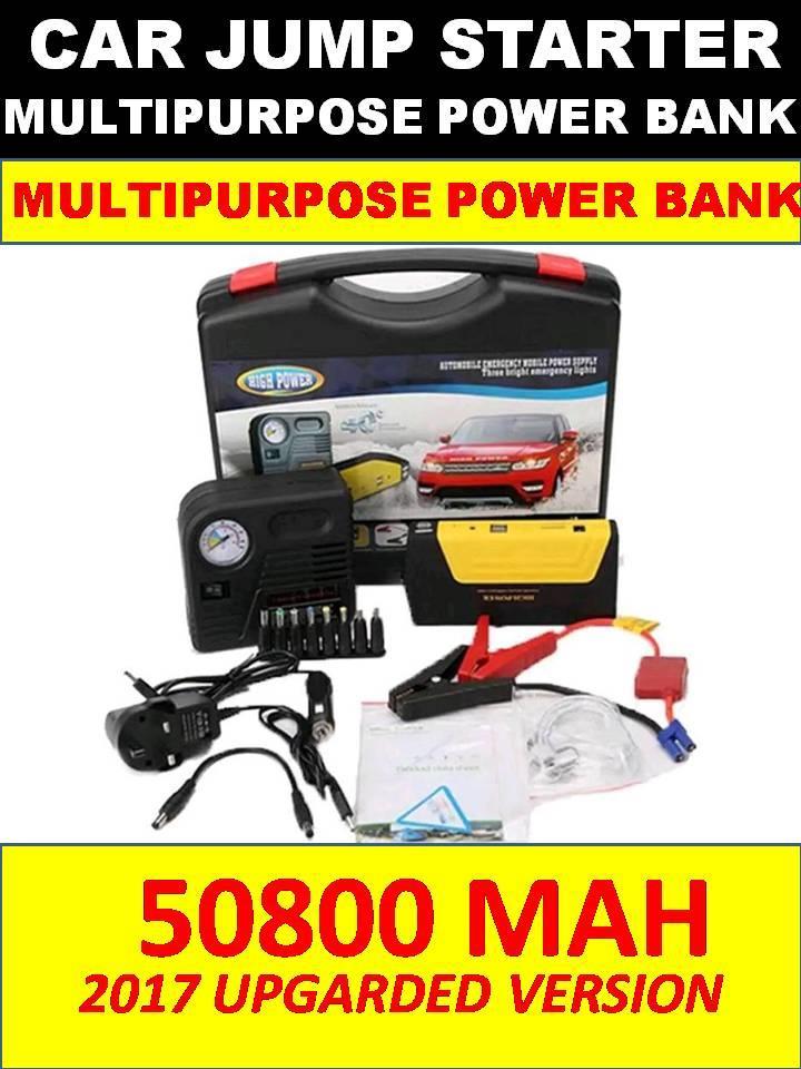 [PROMO]NEW ORI 50800mAh Car Jump Jumper  Starter Laptop Power Bank
