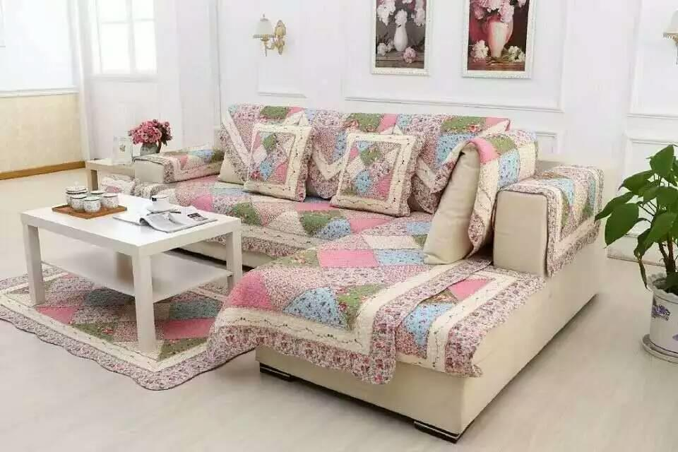 Promo Price Patchwork Sofa Set 1 2 3