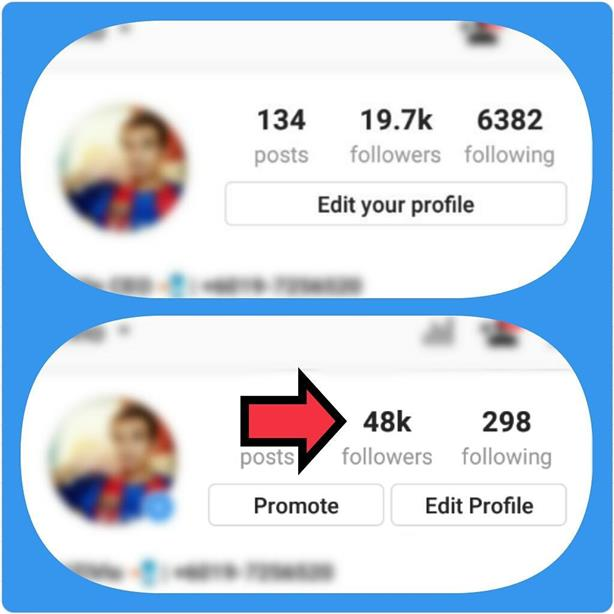 PROMO Real Instagram Followers Booster [NO PASSWORD NEEDED]