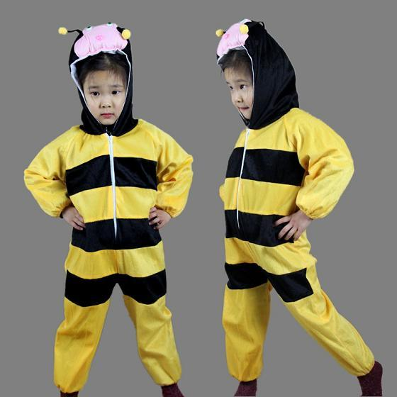Promotion - Bee Cosplay Kids Animal Outfit Costume Size XL