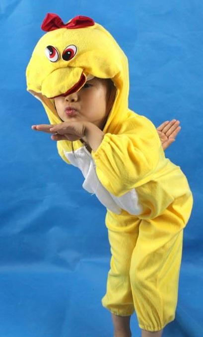Promotion Duck  Cosplay Kids Animal Outfit CostumeSize XL