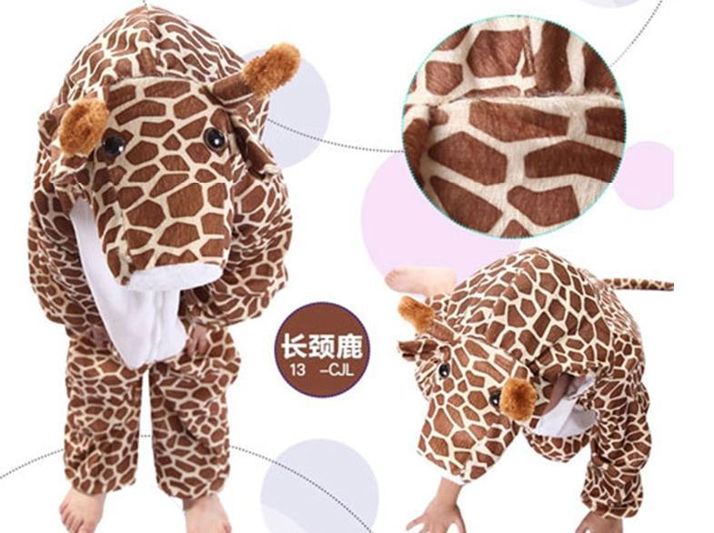 Promotion - Giraffe Kids Animal Costume Size : XL