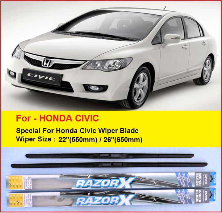 Honda Civic 2017 Malaysia Price >> (Promotion)Honda Civic Rubber Wiper (end 7/1/2019 12:00 AM)