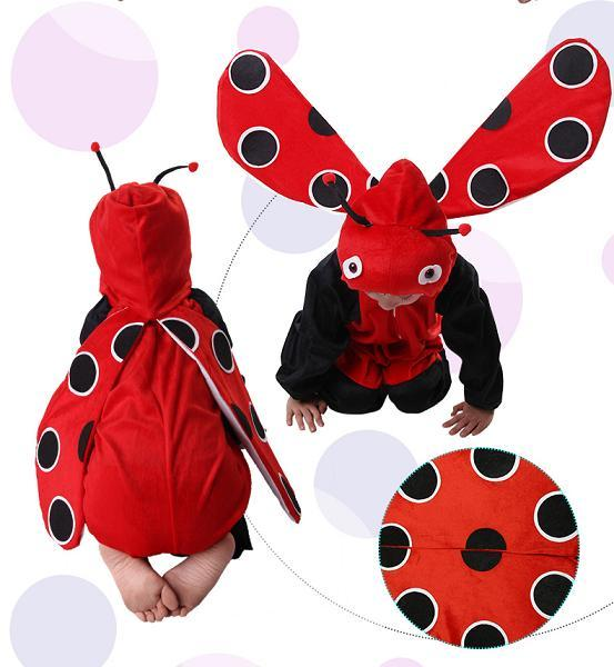 Promotion - Ladybug Cosplay Kids Animal Outfit Costume Size XL