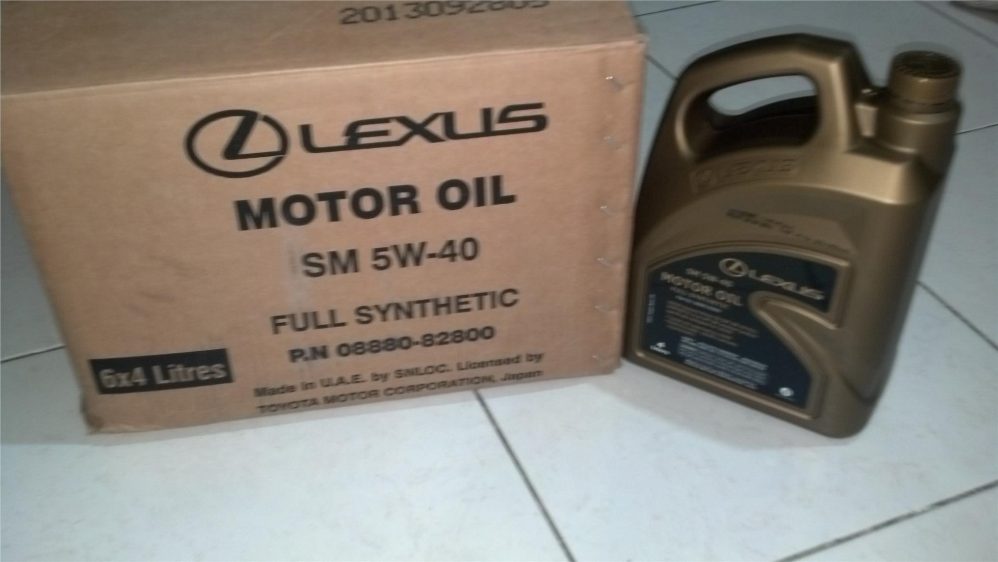 Promotion Lexus Fully Synthetic En End 4 20 2016 9 15 Pm