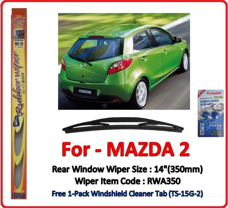 promotion) mazda 2 (de) rear windo (end 9/23/2018 11:10 pm)