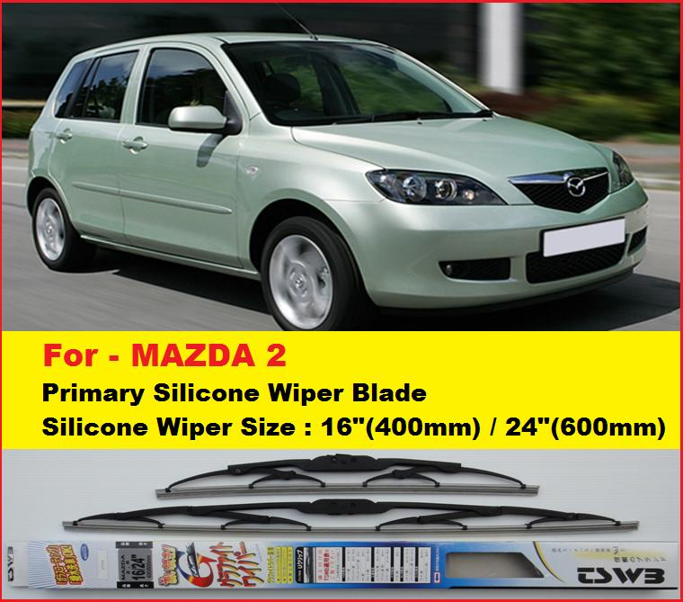 promotion)mazda 2 wipers(nwsg16+24) (end 8/28/2018 6:21 pm)
