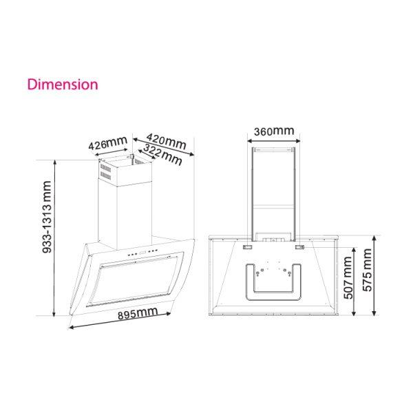 (PROMOTION) SENZ SZ-CH333 Angled Twin Motor MultiHood