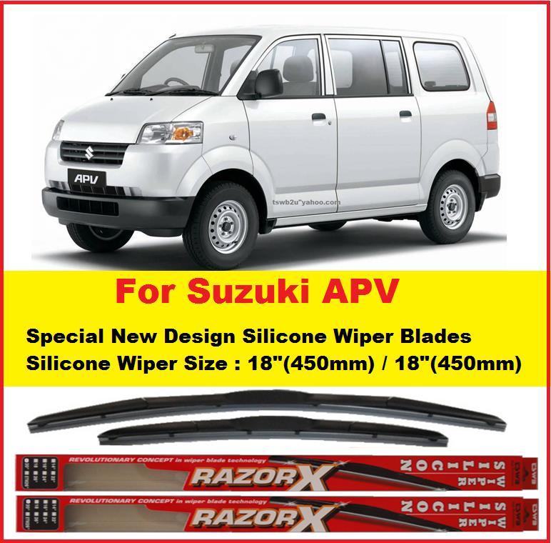 Promotion Suzuki APV TDS18 18 New Design Silicone Wiper Blades