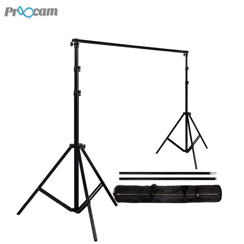 Proocam BG280 Heavy duty Backdrop Background Stand Set (2.88 X 3meter)