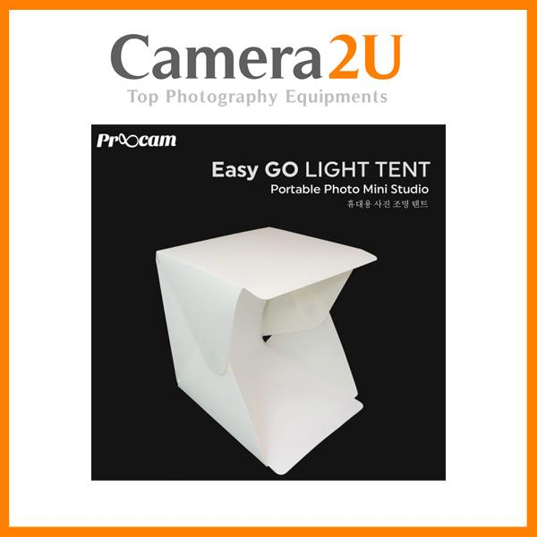 PROOCAM EASY-GO PORTABLE MINI STUDIO LIGHT TENT (YTP-1)