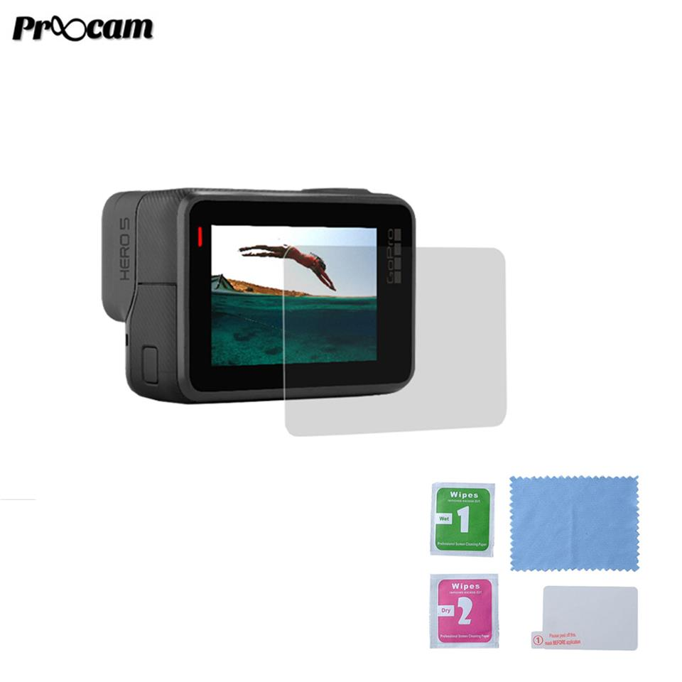 Proocam PRO-F209H 9H Tempered Glass LCD Screen Protector for Hero 5