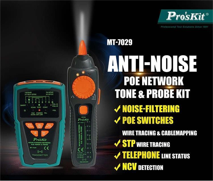 PROSKIT MT-7029 NOISE-FILTERING NET (end 3/12/2021 10:15 AM