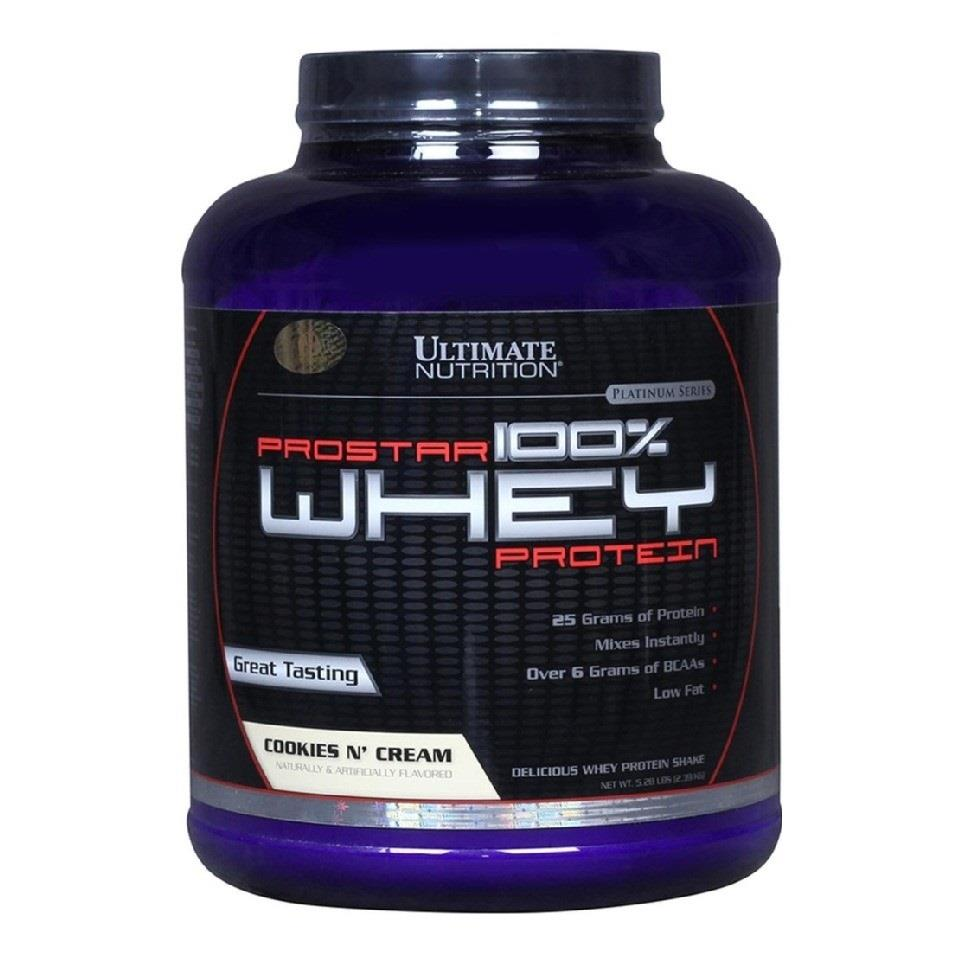 PROSTAR WHEY (5 LBS) - COOKIES N CREAM