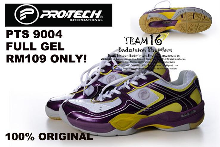 Protech Shoe (Badminton) PTS9004 Full Gel