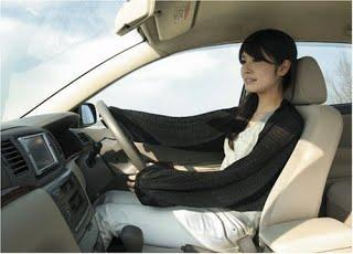 Protect your Arms & Shoulders while Driving.Japan 3 Way Sunshade Stole