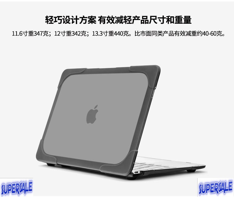 newest collection 89a5c ca419 Protective Laptop Case Cover Bag Apple MacBook Air 11,13, 15 inch