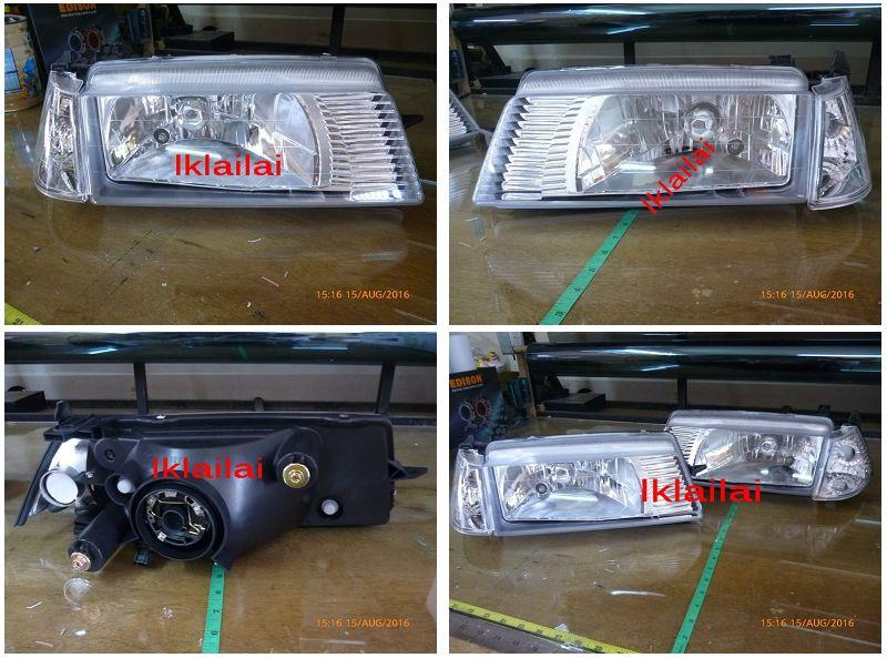 Proton 92-03 Iswara  Head Lamp + Corner Lamp 1-Side Only